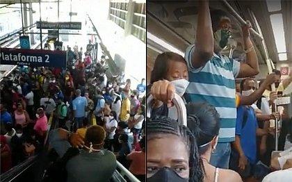 Falha provoca atrasos e aglomerações no metrô: 'Sensação de terror'