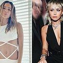 Anitta e Miley participaram de live compartilhada no Instagram