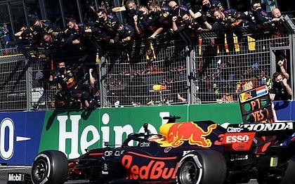 Max Verstappen foi o vencedor do GP da Holanda