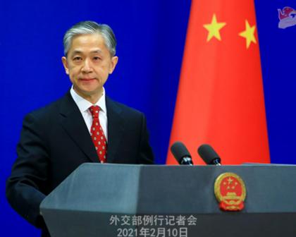 Wang Wenbin, porta-voz do Ministério das Relações Exteriores da China, comentou o assunto