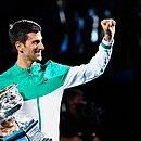 Djokovic chegou ao nono título do Aberto da Austrália, o terceiro seguido