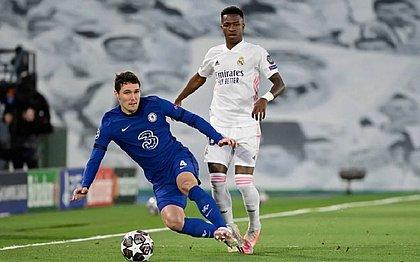 Real Madrid e Chelsea ficaram no 1x1 no Alfredo Di Stefano