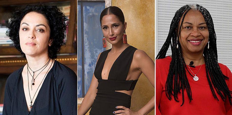 Márcia Tiburi, Camila Pitanga e Olívia Santana falam sobre feminismo em Salvador