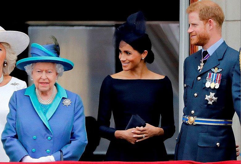 Príncipe Harry e Meghan Markle tiveram o apoio da Rainha Elizabeth