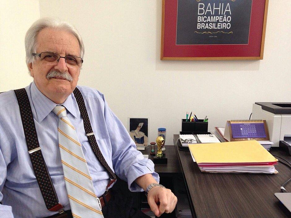 Morre o ex-presidente do Bahia Fernando Schmidt