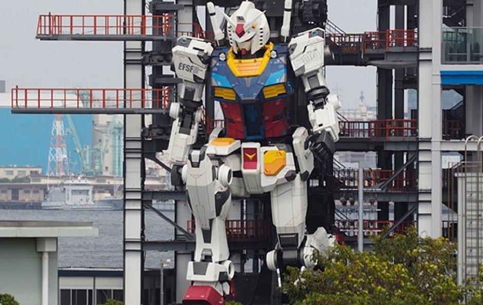 Japoneses criam 'Transformer' de 18 metros de altura e 25 toneladas
