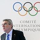 Thomas Bach é o presidente do Comitê Olímpico Internacional