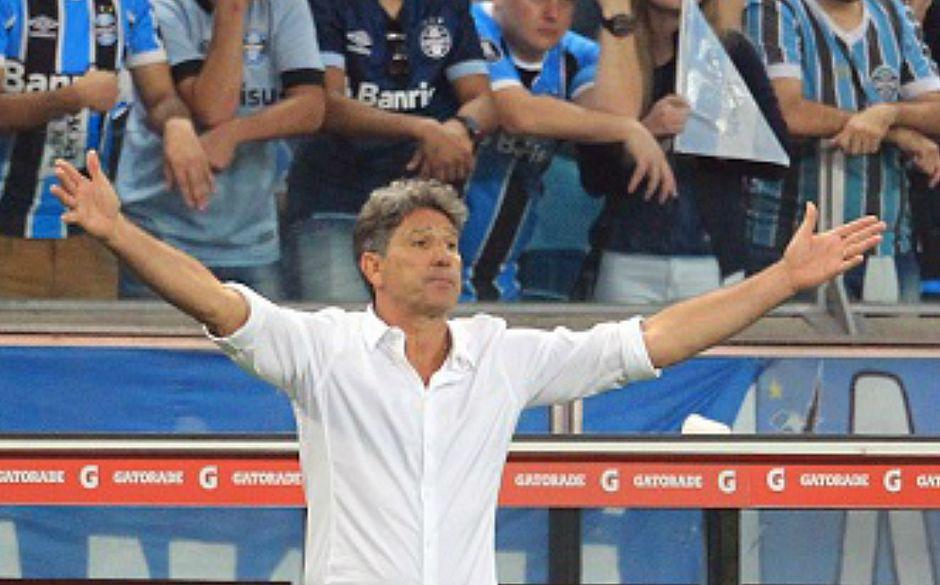 Renato Gaúcho critica arbitragem do primeiro jogo da final da Libertadores
