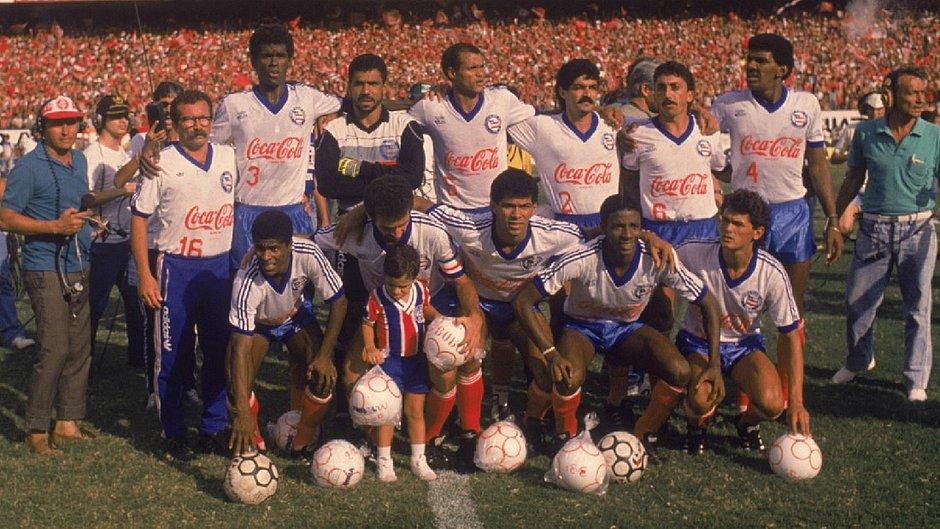 Depois de passar pelo Fluminense, Bahia foi camepão brasileiro sobre o Internacional