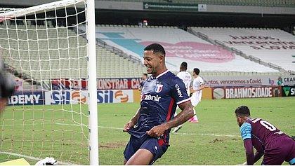 Fortaleza, de David, ficou no empate com o Fluminense