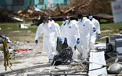 Resgate recupera corpo de vítima em Marsh Harbour, nas Bahamas