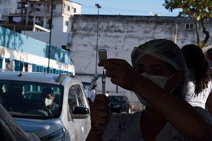 Vacinômetro: Bahia tem 8 milhões de vacinados com ao menos uma dose