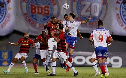 Bahia voltou a tropeçar e perdeu para o Sport, por 1x0, em casa