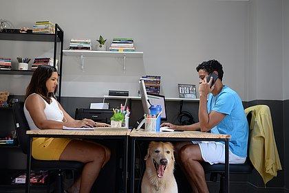 É meio lá e cá: o futuro do home office
