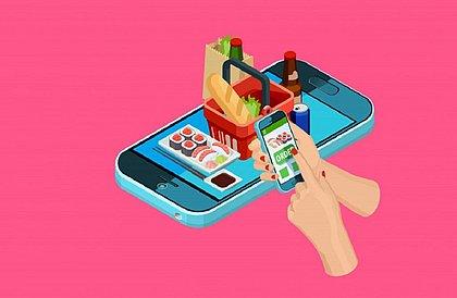 Mais da metade dos brasileiros agora compra alimentos pela internet