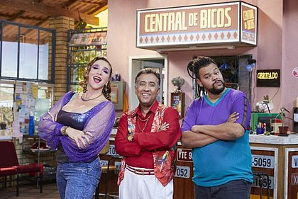 Marisa Orth, Maurício Manfrini e Babu Santana protagonizam o hurorístico