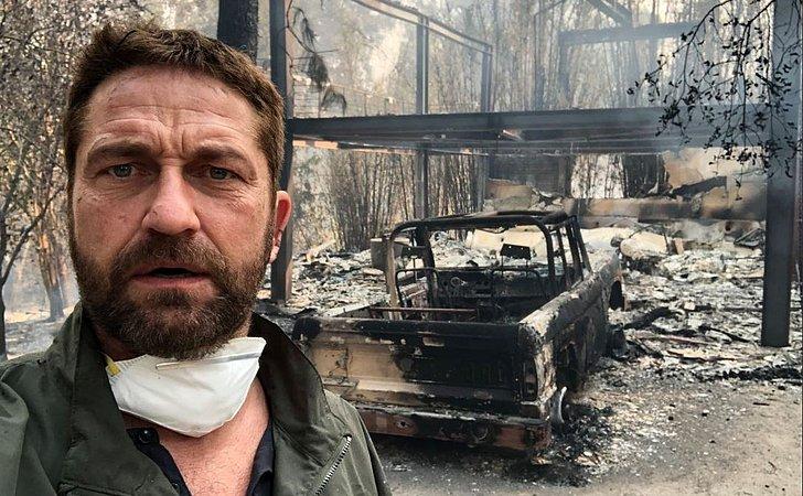 Casas de famosos são totalmente destruídas após incêndio na Califórnia