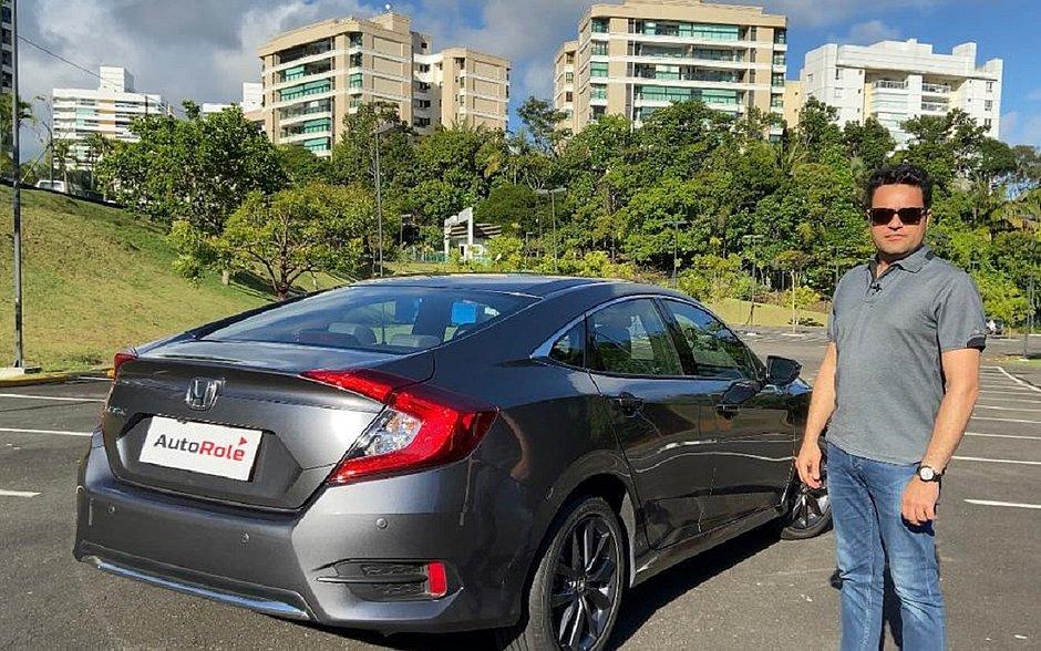 Em vídeo, Antônio Meira Jr. mostra todos os detalhes do Honda Civic