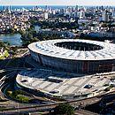 PF cumpre mandados contra desvios em obras da Arena Fonte Nova (Foto: Mauro Akin Nassor)
