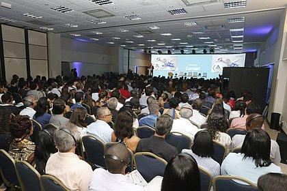 Auditório está lotado para o último dia do Fórum Agenda Bahia em 2018