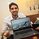 Yulo já chegou a faturar R$ 3 mil com a venda de 30 mil pontos acumulados em programas de fidelidade