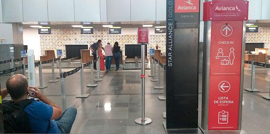 Mais de 160 voos da Avianca são suspensos em Salvador até segunda-feira (27)