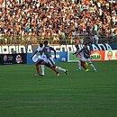 Imagem do jogo entre Fluminense e Bahia de Feira pela 4ª rodada, no Joia da Princesa