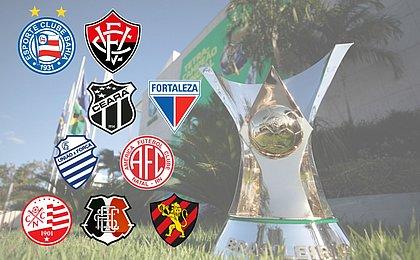 Todas as participações de times nordestinos na Série A desde 2003