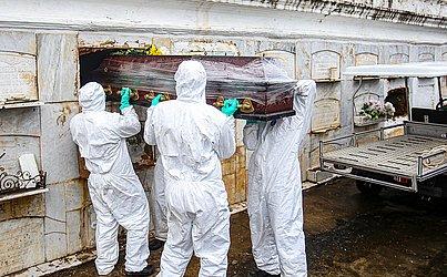 O corpo de Arlete havia sido trocado com o de outra paciente que morreu por causa do coronavírus, Rosângela de Jesus Santos, 47.