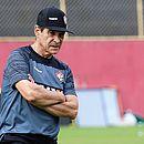 O técnico Paulo Cézar Carpegiani melhorou o desempenho do Vitória na Série A