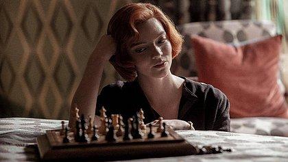 'O Gambito da Rainha' se torna uma das séries mais vistas da Netflix
