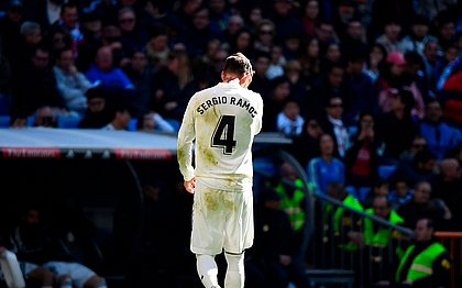 Sergio Ramos está de saída do Real Madrid