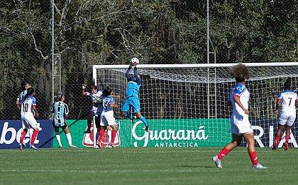 Bahia perdeu para Grêmio, de virada, no Feminino