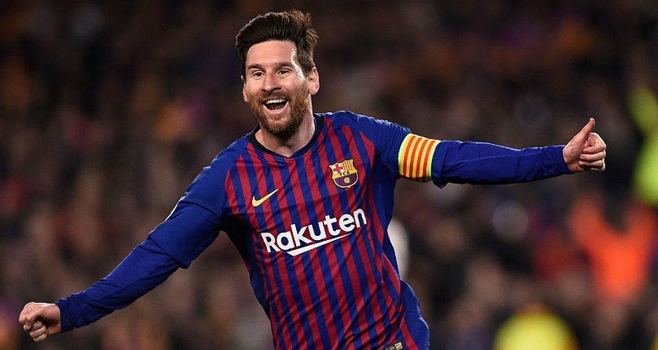 Messi marcou duas vezes no triunfo do Barcelona por 3x0