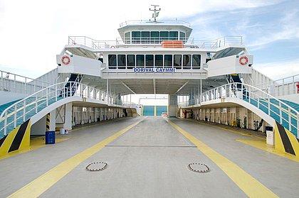 Compra de bilhete com hora marcada no ferry-boat é retomada
