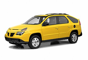 O Aztek, modelo da Pontiac, marca da General Motors extinta em 2010