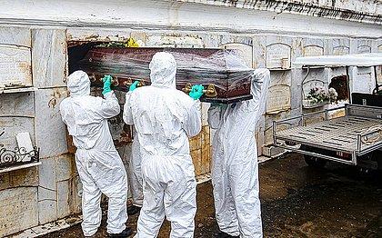 Bahia registra 96 mortes e 4.737 novos casos de covid em 24h