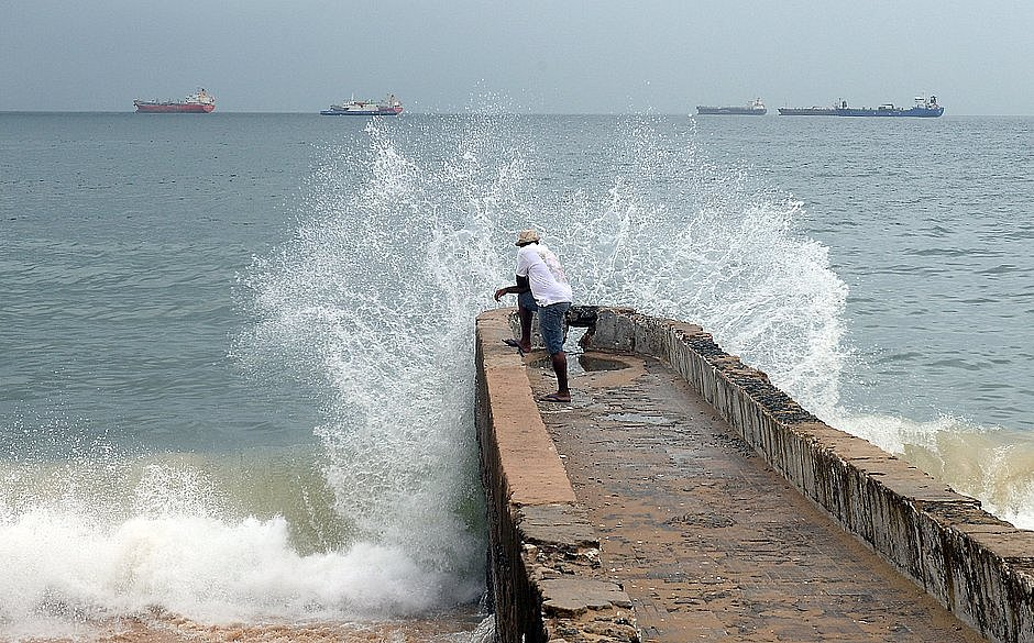 Marinha divulga alerta sobre chuvas intensas na Bahia