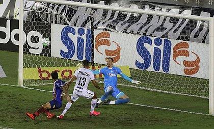 Bahia voltou a apresentar problemas defensivos e somou mais um tropeço na Série A do Brasileirão