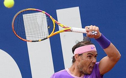 Nadal estreou no ATP 500 de Barcelona com vitória de virada