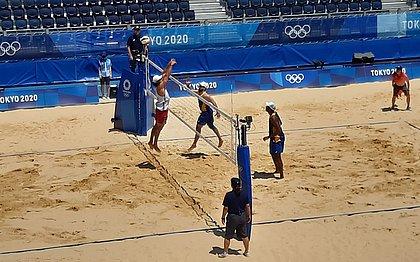 Dupla brasileira começou bem a Olimpíada