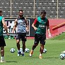 André Lima, ao centro, está cotado para o ataque rubro-negro