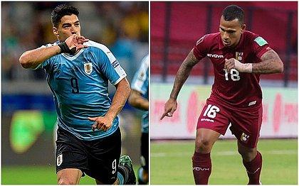 Suárez e Otero foram convocados para enfrentar o Brasil pelas Eliminatórias