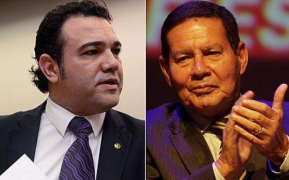Feliciano pede impeachment de Mourão após vice 'curtir' post crítico a Bolsonaro