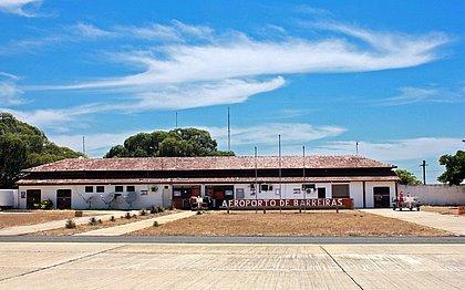 Aeroporto de Barreiras será ampliado e reformado