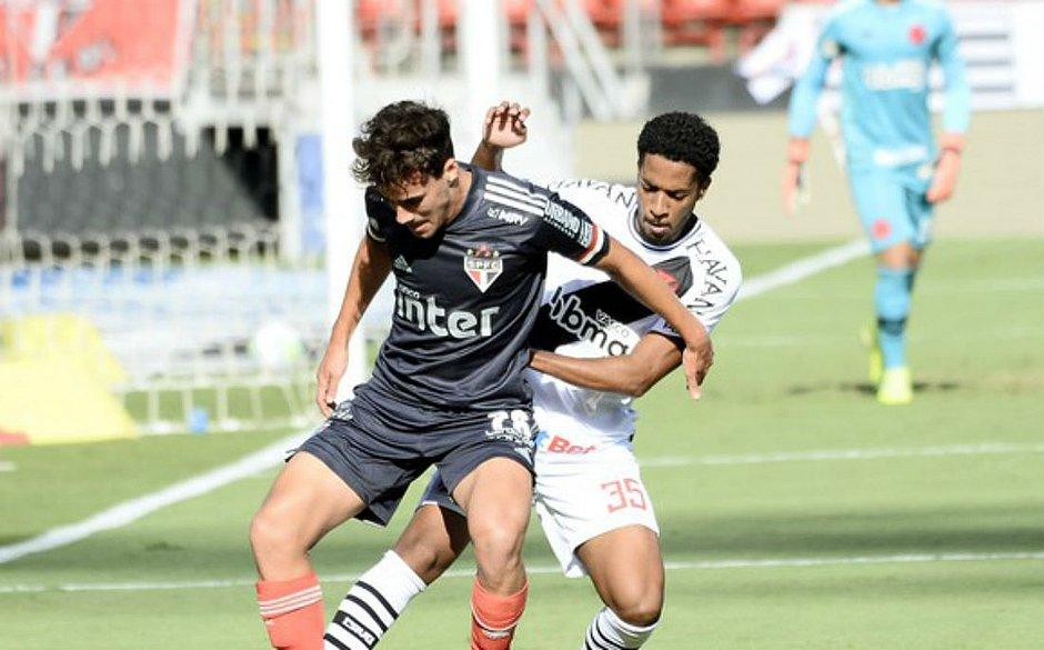 Vasco saiu na frente, mas São Paulo arrancou o empate no Morumbi