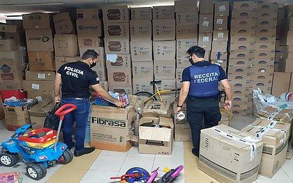 Mais de 5 mil brinquedos irregulares foram apreendidos em 2021 na Bahia