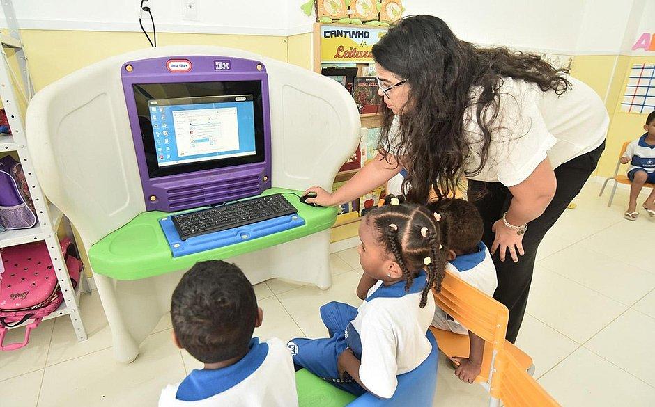 Salvador é a capital brasileira campeã em número de crianças na pré-escola