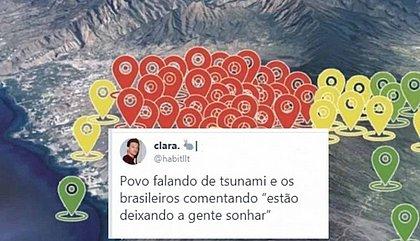 Possibilidade de tsunami na Bahia gera onda de memes na internet; veja vídeo