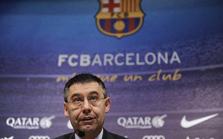 Presidente do Barcelona, Josep Maria Bartomeu, recebe críticas de diretores do clube